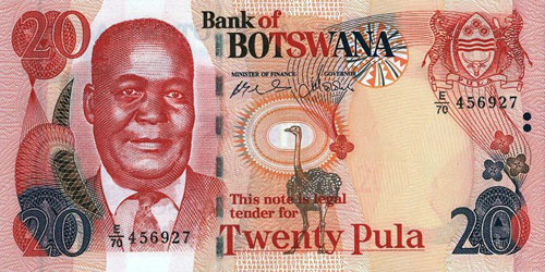 Zimbabwe Currencies Botswana Currency Exchange Rates